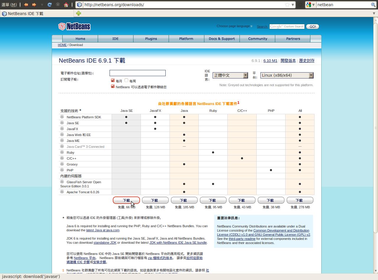 NCHCCloudCourse100928/Netbeans – Cloud Computing
